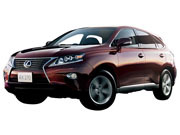 SUV比較4WDレクサスRX